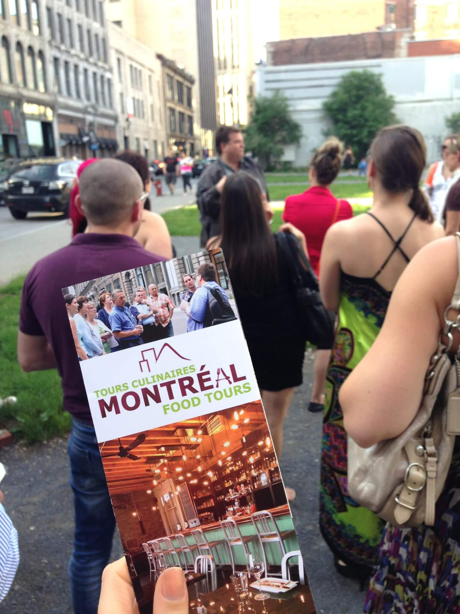 Montreal Food Tours Brochure