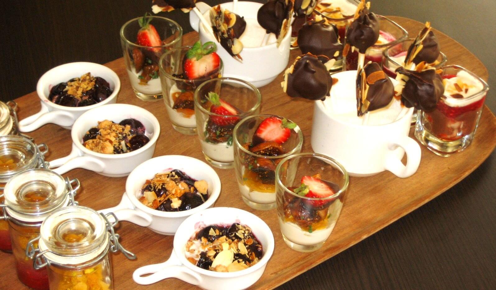 Tapas à dessert