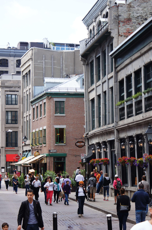 Balade dans le vieux Montréal